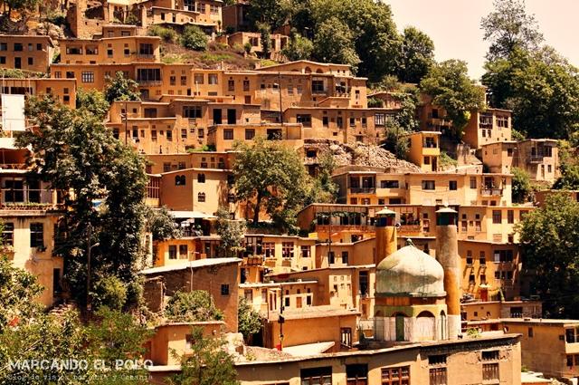 Masuleh, uno de los tantos lugares para visitar en Irán.