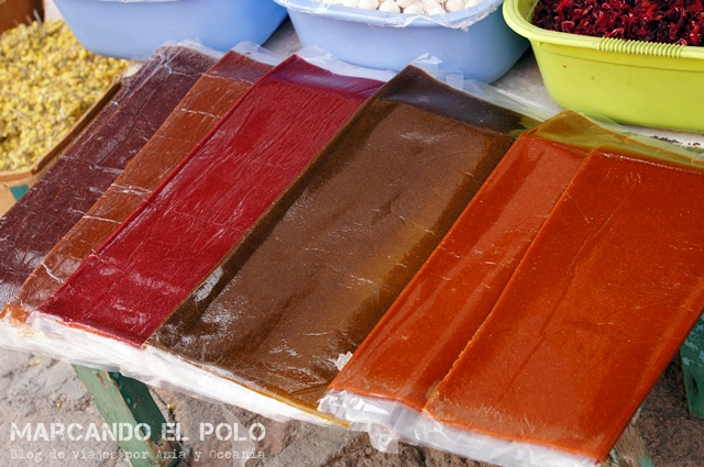 Uno de los regalos más populares para llevar a la ruta: lavashac, un dulce de mermelada extra sweet.