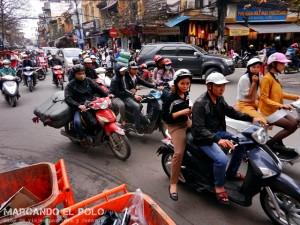 Viajar a Vietnam - trafico de motos