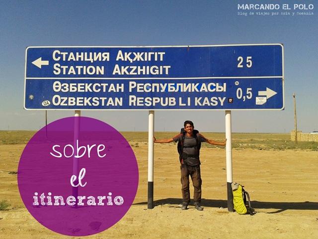 Sobre el itinerario