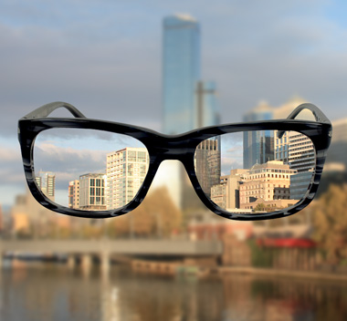 Con anteojos vs sin anteojos