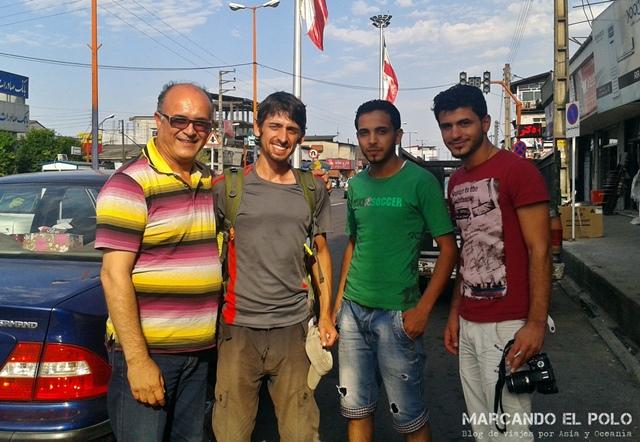 Viajar a dedo Irán - quien nos freno