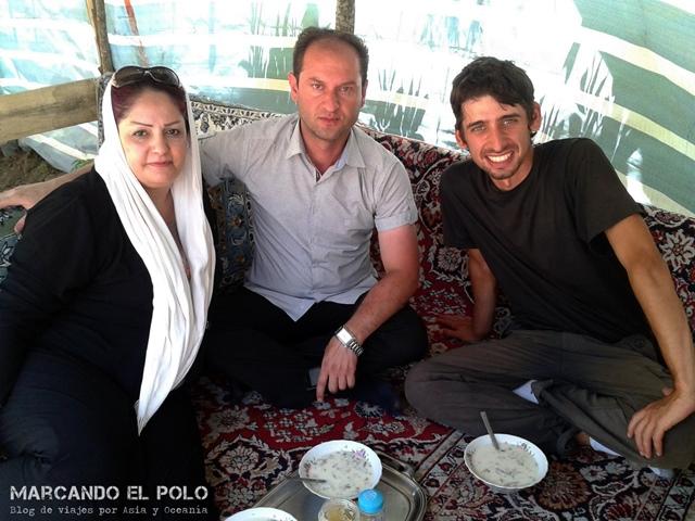 Viajar a dedo Irán - primer viaje