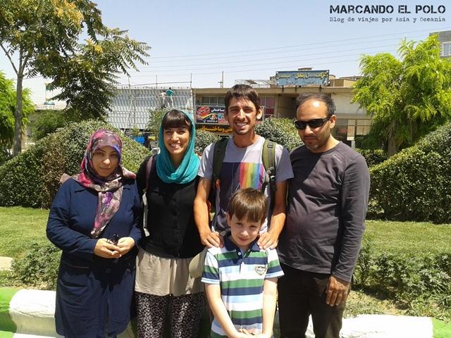 Viajar a dedo Irán