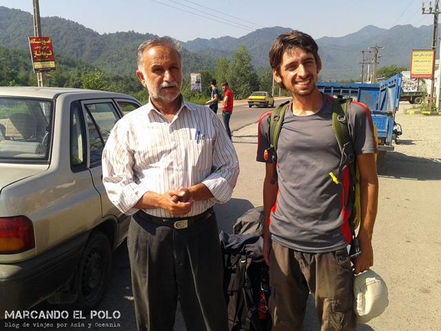 Viajar a dedo Irán - Camino a Qom