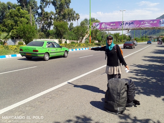 Autostop en Iran 21