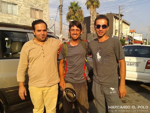 Viajar a dedo Irán - Rasht