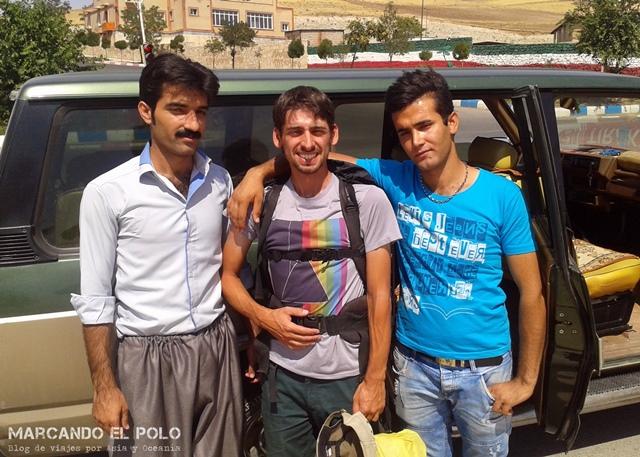 Viajar a dedo Irán - Kurdos