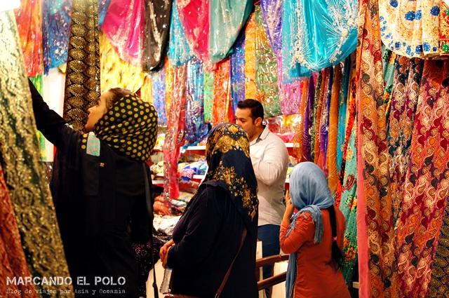 Mercado en Kurdistán