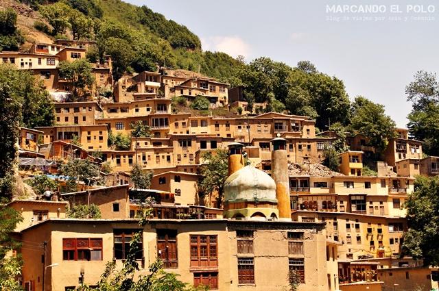 Viajar a Irán - Masouleh