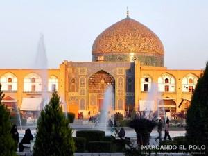 Viajar a Iran - Mezquita Lotfollah, Isfahan