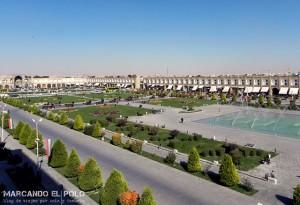 Viajar a Iran - Plaza del Imam, Isfahan