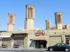 Viajar a Irán - Badgirs, Yazd