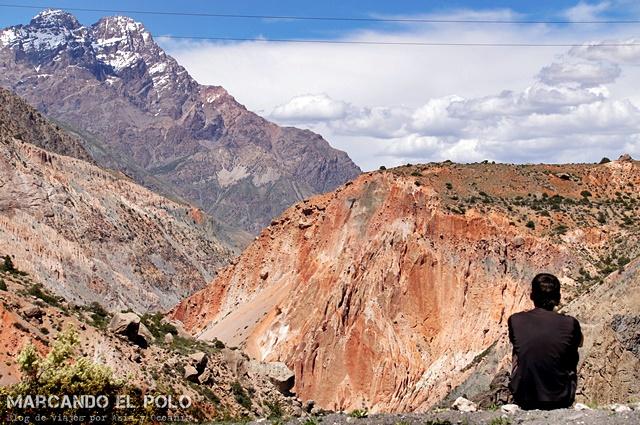 Viajar a Tayikistan - camino lago Iskanderkul 2