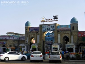 Viajar a Tayikistan - mercado Qurghonteppa