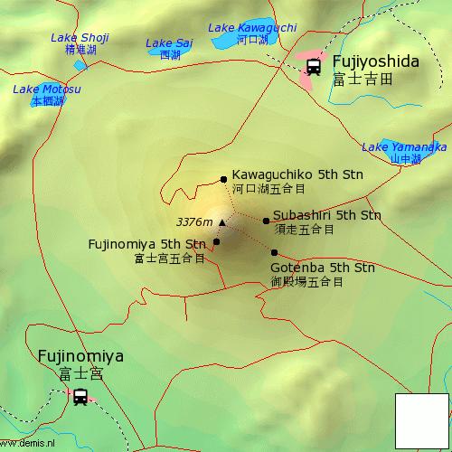 map-mtfuji