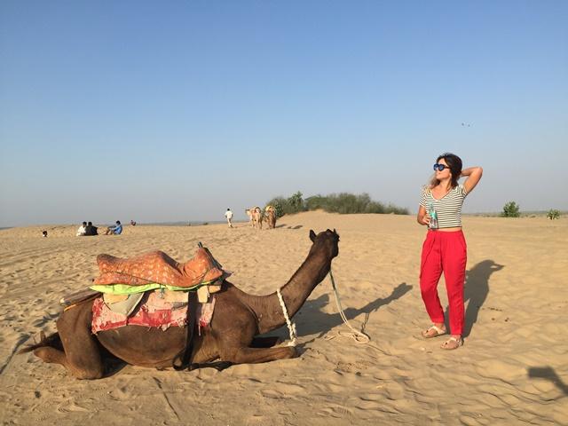 Camino al desierto del Thar - Clara Victorica