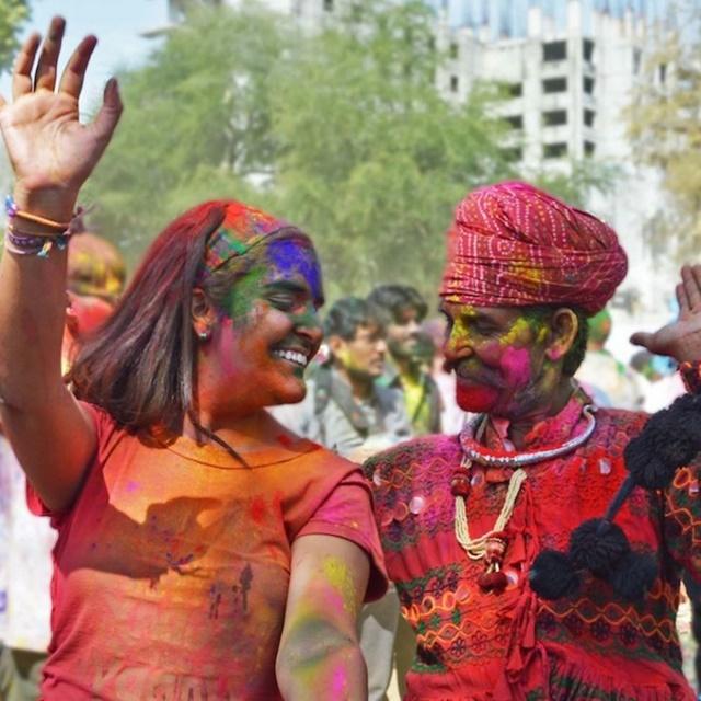Festival Holi en Jaipur - Analucía Rodríguez