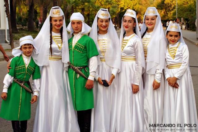 Abjasia - vestimenta tradicional