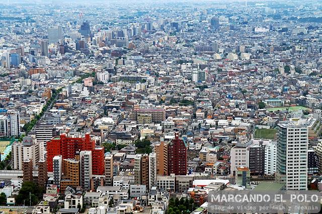 Cosas gratis Tokio - Tokyo metropolitan building