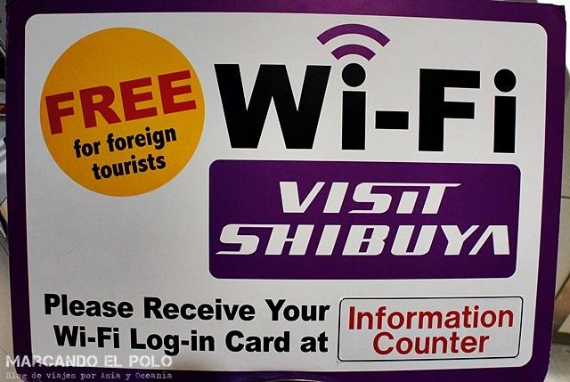 Cosas gratis Tokio - wifi
