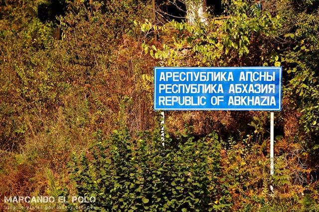 Abjasia - entrada