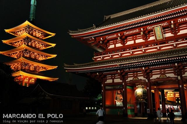 Viajar a Japon - Templo Sensoji, Tokio