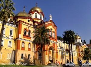 Viajar a Abjasia - monasterio New Athos