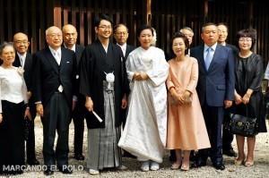 Viajar a Japon - casamiento en Meiji Jingu, Tokio