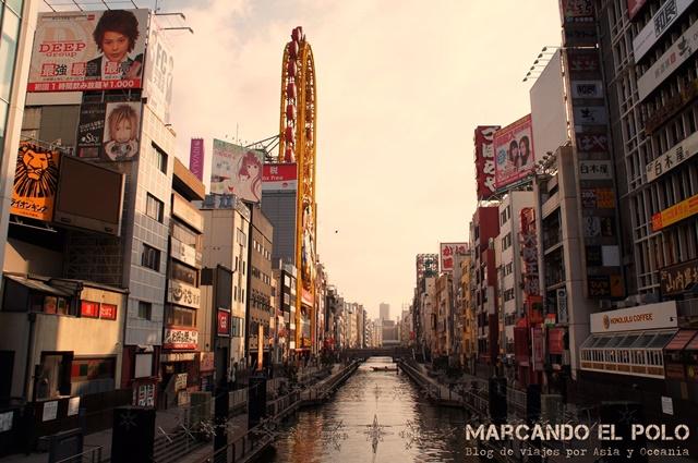 Viajar a Japon - Dotonbori, Osaka