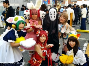 Viajar a Japon - Festival cosplay Osaka