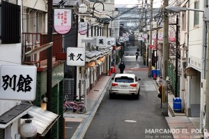 Viajar a Japon - Tobita Shinchi barrio rojo Osaka