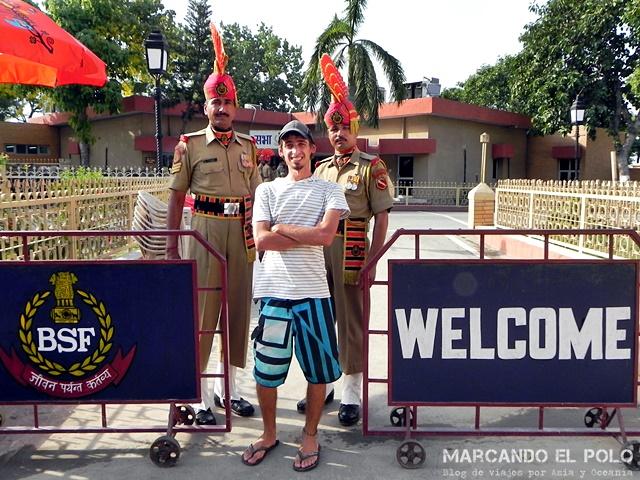 Visa de India - Frontera con Pakistan