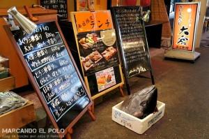 Mercado omicho, Kanazawa, Japon