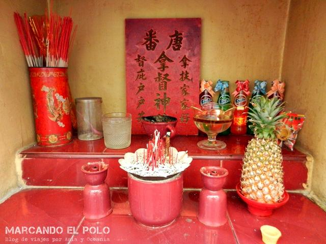 Costumbres del sudeste asiático - ofrendas