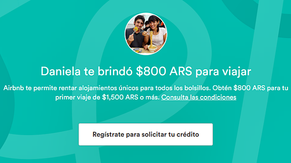 Credito gratis air bnb