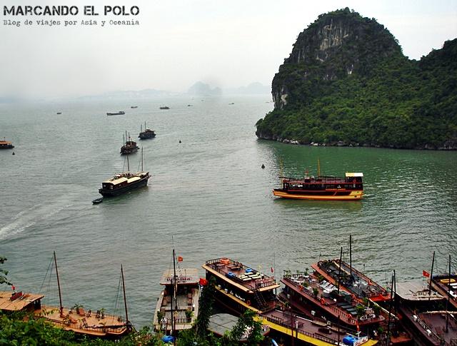 Destinos del Sudeste asiatico - Halong Bay, Vietnam