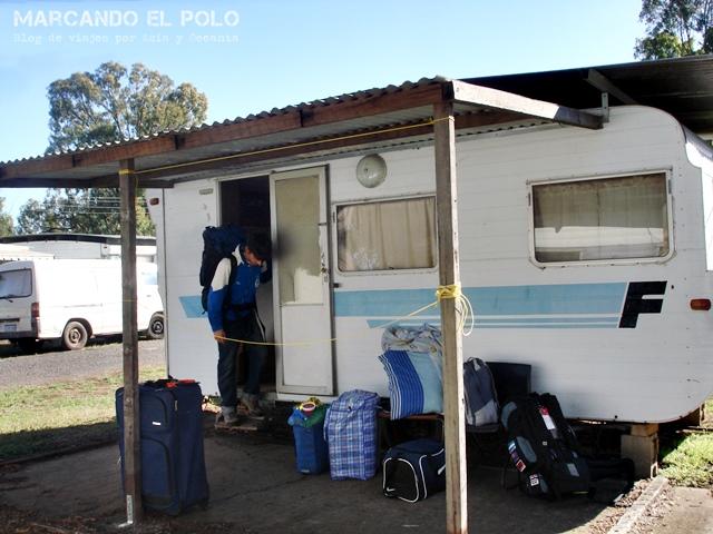 Working Holiday Visa Australia: viviendo en casa rodante (caravan park)