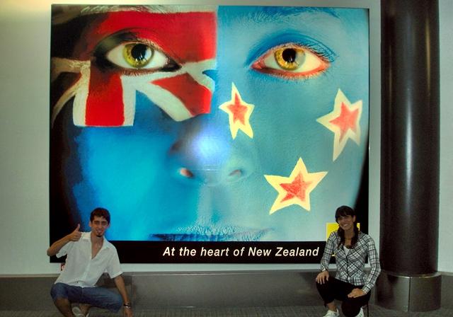 Working Holiday Visa Nueva Zelanda: aeropuerto de Auckland