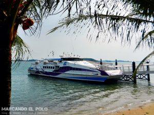 Transporte en el Sudeste asiatico: Barco Singapur-Indonesia