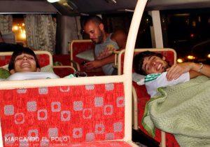 Transporte en el Sudeste asiatico: Open bus Vietnam