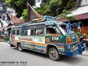 Transporte en el Sudeste asiatico: Bus Indonesia