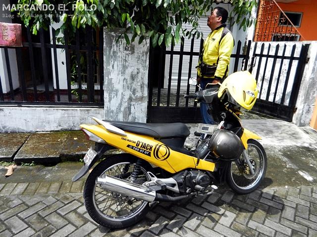 Transporte en el Sudeste asiatico: moto ojek, Indonesia