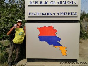 Viajar a Armenia - Frontera Armenia-Georgia