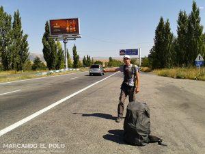 Viajar a dedo en Armenia