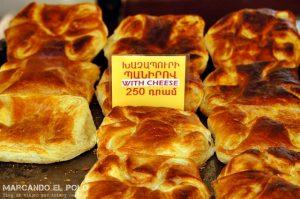 Viajar a Armenia - Khachapuri