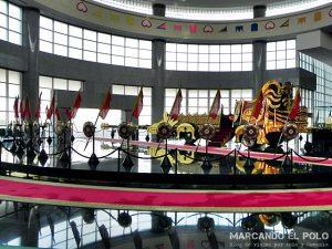 Viajar a Brunei - Carruaje en Royal Regalia Museum