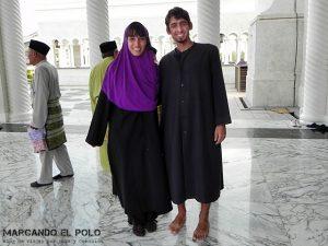 Viajar a Brunei - Mezquita Omar Ali Safuddien