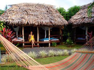 Viajar a Samoa - Alojamiento tipico, fale
