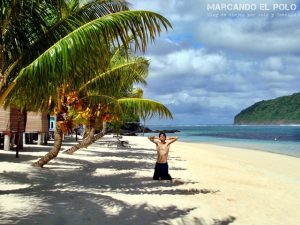Viajar a Samoa - Playa Lalomanu